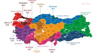 İşte Türkiye'nin şiddet haritası