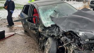 Adıyaman'da trafik kazası: 4 kişi yaralandı