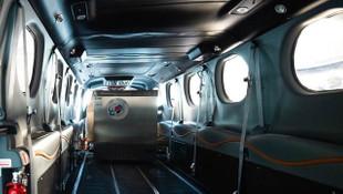 Pfizer/BioNTech aşısını taşıyacak olan uçak devasa bir buzdolabına dönüştü