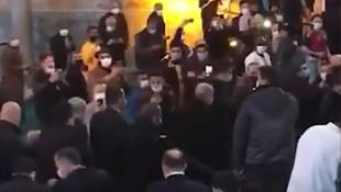 Ayasofya camiindeki bu görüntüler olay oldu! Erdoğan'ı gören...