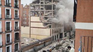 İspanya'da başkenti Madrid'de şiddetli patlama