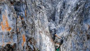Türkiye'nin dört bir yanından kar manzaraları