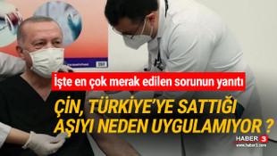 Çin Türkiye'ye sattığı CoronaVac aşısını neden kendi uygulamıyor  ?