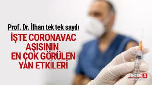 Prof. Dr. İlhan, CoronaVac aşısının yan etkilerini açıkladı