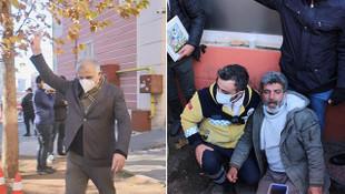 HDP'li vekil evlat nöbetindeki aileleri tahrik etti