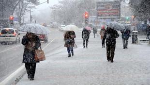 Meteoroloji uyardı: Kar İstanbul'a geri geliyor!