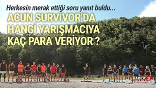 Acun Ilıcalı Survivor yarışmacılarına ne kadar para veriyor ?