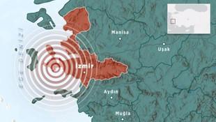 İzmir'de bir günde 100'den fazla sarsıntı