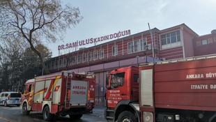 Çocuk Hastanesi'nde yangın