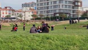 Yer: İstanbul! Sokağa çıkma yasağını takan yok