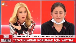 Canlı yayında cinayeti itiraf eden kadın tutuklandı