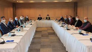 Gökhan Yüksel CHP İl Başkanlığı'nın Toplantısına Katıldı