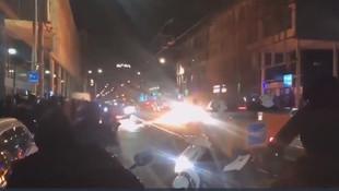 Avrupa'da büyük ayaklanma! Araçlar ateşe veriliyor, mağazalar yağmalanıyor