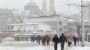 Kara doyamayanlara müjde! Kar İstanbul'a geri dönüyor