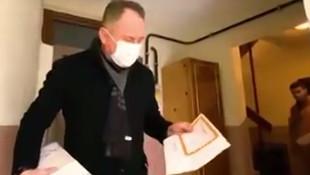 Karne dağıtan AK Partili isim hakkında suç duyurusu