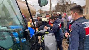 Kırklareli'nde patlama: 3 işçi yaralandı
