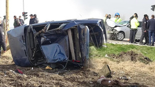 Adana'da feci kaza: 1 ölü, 5 yaralı