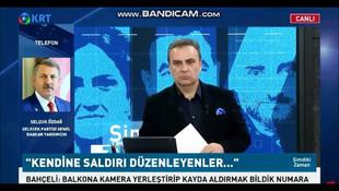 Selçuk Özdağ'dan KRT canlı yayınında Devlet Bahçeli'ye hodri meydan