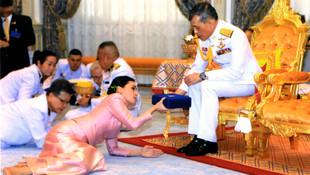 Tayland kralından bomba karar! Metresini kraliçe yaptı