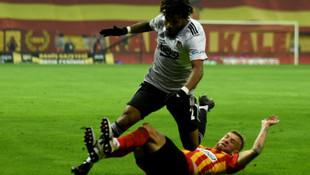 Beşiktaş Kayseri'de 3 puanı 2 golle aldı
