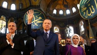 AK Parti'nin Ayasofya anketinden şaşırtan sonuç