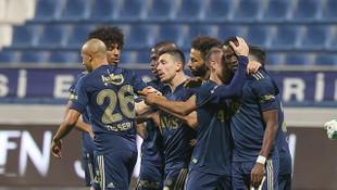 Fenerbahçe 3 golle kazandı: Kasımpaşa: 0 - Fenerbahçe: 3
