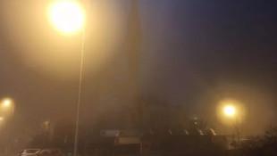 Ankara'da yoğun sis!