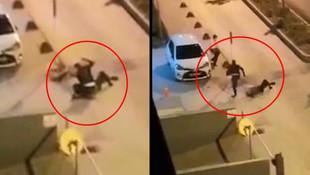 Eskişehir'de dehşet anları! Polisin başına telsizle vurdu