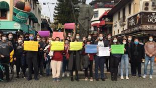 Boğaziçililere Antalya'dan da destek!