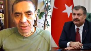 Bakan Koca Prof. Dr. Uğur Şahin'le görüştü