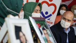 Bakan Soylu, Diyarbakır annelerini ziyaret etti