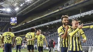 Zorlu maçta 3 puan Fenerbahçe'nin