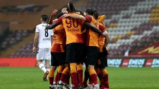 Galatasaray, Gençlerbirliği'ni 6 golle dağıttı