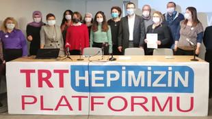 'TRT Hepimizin' Platformu kuruldu