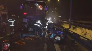 Göz göre göre gelen kaza: 2 ölü, 10 yaralı