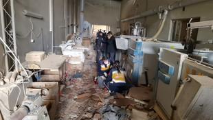 Bursa'da patlama! Ölü ve yaralılar var