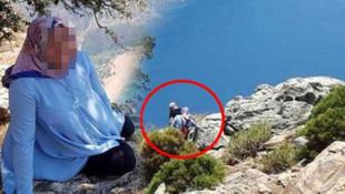 Hamile eşini kayalıklardan aşağı itmişti! Yeni görüntüler ortaya çıktı