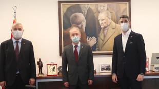 Ardino Belediye Başkanı Şaban'dan Başkan Yüksel'e Ziyaret