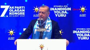 Erdoğan: ''Kanal İstanbul'u inadına yapacağız''