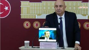"""CHP'li Özkoç ''yayınlayacağım"""" demişti; Erdoğan'ın o görüntülerini izletti"""