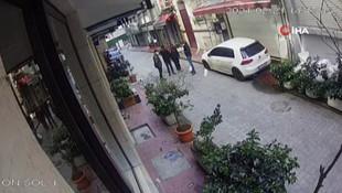 Taksim'de nefes kesen kovalamaca