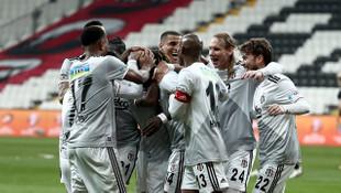 Kara Kartal gol oldu yağdı! Beşiktaş- Yukatel Denizlispor: 3-0