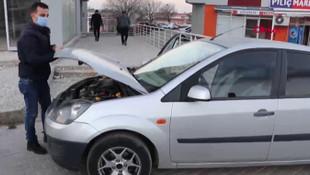 Otomobilde şoke eden dolandırıcılık yöntemi