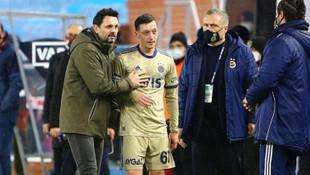 Erol Bulut ile Mesut Özil arasında dikkat çeken görüntü