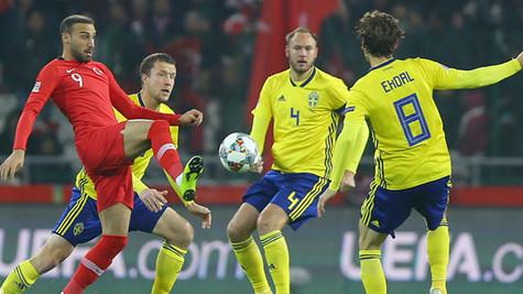 A Milliler yine kayıp: Türkiye : 0 - İsveç : 1