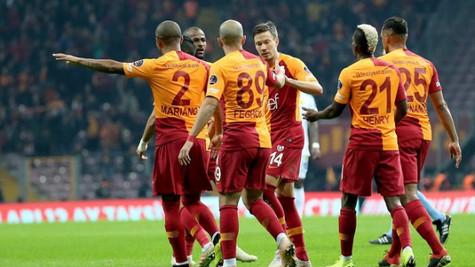 Galatasaray 6 - 0 Ankaragücü