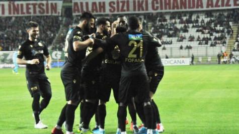 Konyaspor 0 - 2 Yeni Malatyaspor