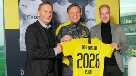 Borussia Dortmund, Puma ile 250 milyon Euro'luk sözleşme imzaladı