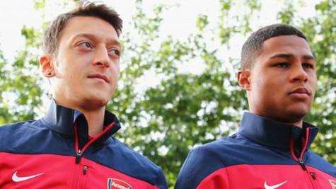 Serge Gnabry: Mesut Özil şimdiye kadar oynadığım en iyi futbolcu