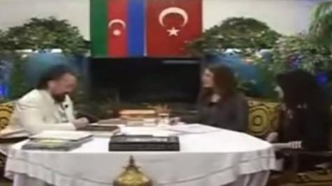 Ünlü oyuncunun Adnan Oktar'la videosu çıktı